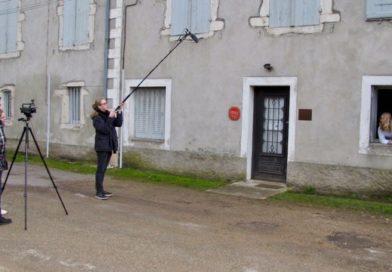 Silence ! Action ! Ça tourne ! pour les élèves de l'atelier Cinéma de la cité scolaire Niepce-Balleure