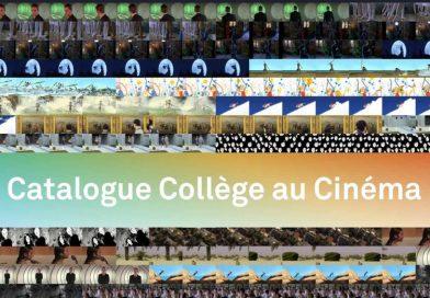 Un nouvel outil pour le dispositif Collège au cinéma
